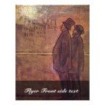 Los noctámbulos de Daumier Honoré Tarjeta Publicitaria
