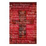 Los nombres del Jesucristo de la biblia Papeleria
