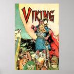 Los nórdises de los guerreros del Norseman del Tho Poster