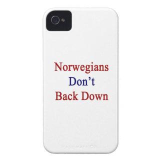Los noruegos no retroceden iPhone 4 Case-Mate coberturas