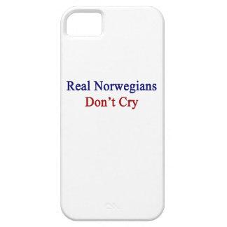 Los noruegos reales no lloran iPhone 5 Case-Mate funda