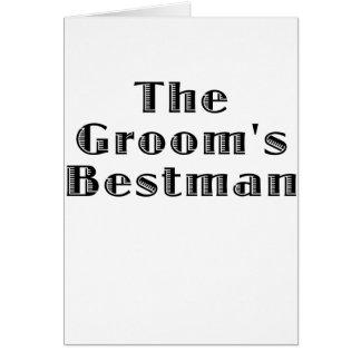 Los novios Bestman Felicitaciones