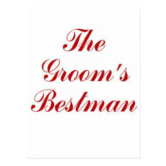 Los novios Bestman Tarjetas Postales