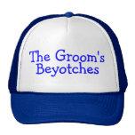 Los novios Beyotches (azul) Gorra