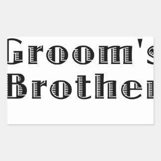 Los novios Brother Rectangular Altavoces