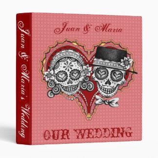 Los Novios - carpeta de Dia de los Muertos Wedding