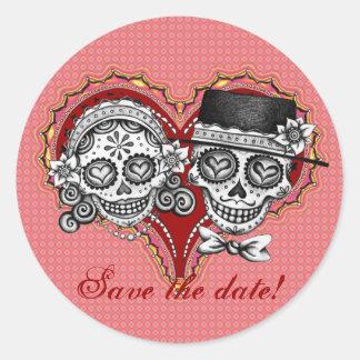 Los Novios - Day of the Dead Stickers