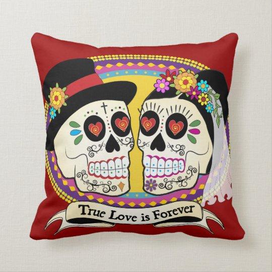 Los Novios (English) Pillow