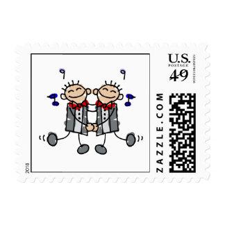 Los novios gay primero bailan sellos