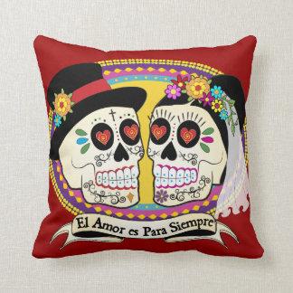 Los Novios Spanish Pillow