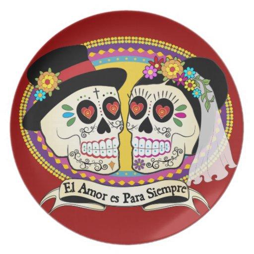 Los Novios (Spanish) Plate