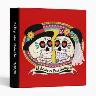 Los Novios Sugar Skull Binder (Spanish)