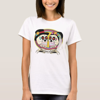 Los Novios Sugar Skull Ladies Shirt (English)