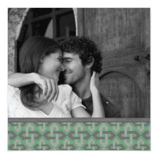 Los nudos célticos ahorran las invitaciones de la invitación personalizada