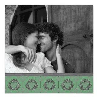 Los nudos célticos ahorran las invitaciones de la anuncios personalizados