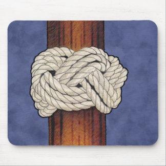 Los nudos de los marineros tapete de ratones