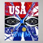 Los nuevos 2013 E.E.U.U. frescos que nadan el post Posters