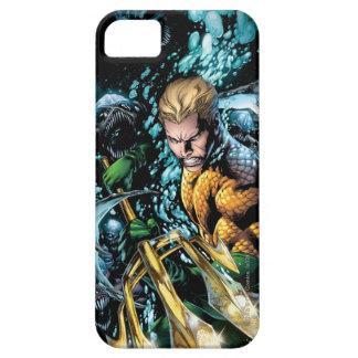 Los nuevos 52 - Aquaman 1 iPhone 5 Case-Mate Fundas