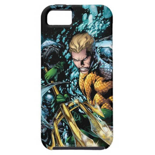 Los nuevos 52 - Aquaman #1 iPhone 5 Carcasas