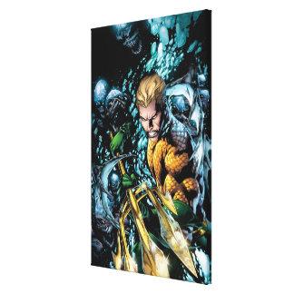 Los nuevos 52 - Aquaman #1 Impresión En Lona