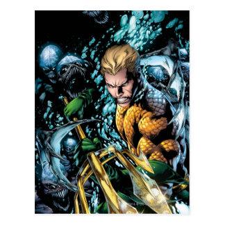 Los nuevos 52 - Aquaman #1 Postal