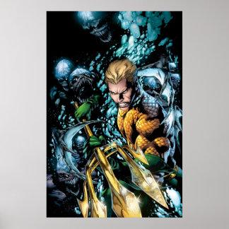 Los nuevos 52 - Aquaman 1 Poster