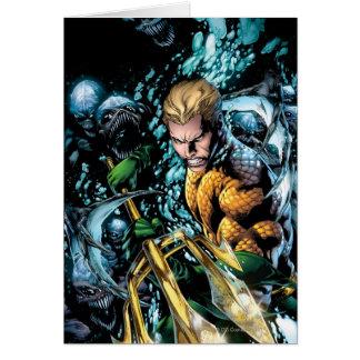 Los nuevos 52 - Aquaman #1 Tarjeta De Felicitación