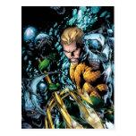 Los nuevos 52 - Aquaman #1 Tarjeta Postal