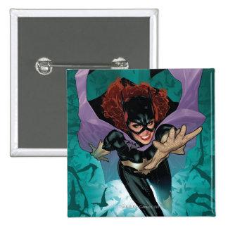 Los nuevos 52 - Batgirl #1 Pin Cuadrado