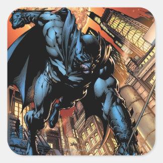Los nuevos 52 - Batman: El caballero oscuro #1 Pegatina Cuadrada