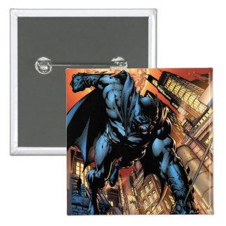 Los nuevos 52 - Batman: El caballero oscuro #1 Pin Cuadrado