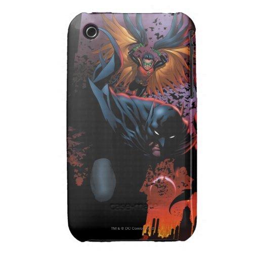 Los nuevos 52 - Batman y petirrojo #1 Funda Para iPhone 3