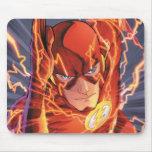 Los nuevos 52 - el flash #1 alfombrilla de ratones