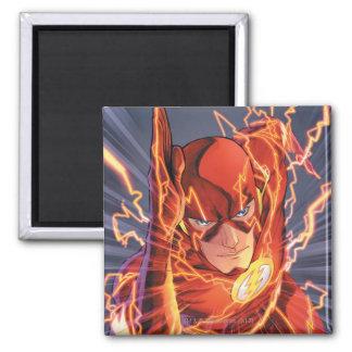 Los nuevos 52 - el flash #1 imán cuadrado
