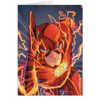 Los nuevos 52 - el flash #1 tarjeta de felicitación