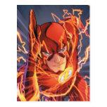 Los nuevos 52 - el flash #1 tarjetas postales