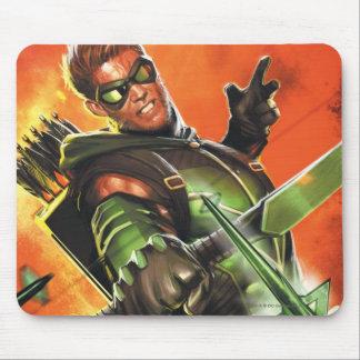 Los nuevos 52 - la flecha verde #1 alfombrilla de ratones