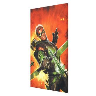 Los nuevos 52 - la flecha verde #1 impresion en lona