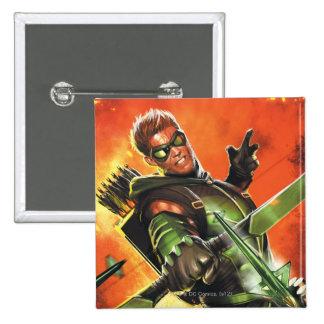 Los nuevos 52 - la flecha verde #1 pin cuadrado
