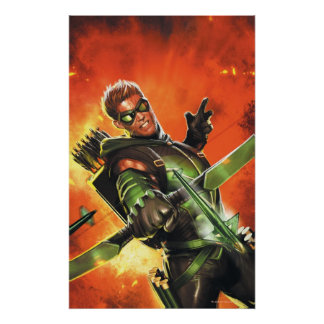 Los nuevos 52 - la flecha verde 1 posters