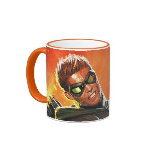 Los nuevos 52 - la flecha verde #1 tazas de café