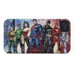 Los nuevos 52 - liga de justicia #1 iPhone 4 Case-Mate protector