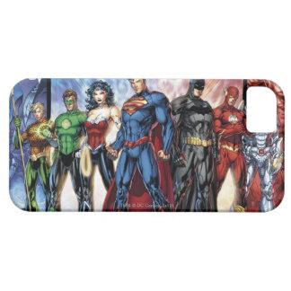 Los nuevos 52 - liga de justicia #1 iPhone 5 funda