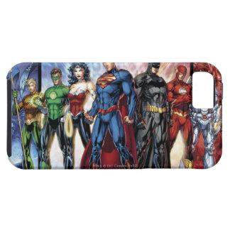 Los nuevos 52 - liga de justicia #1 iPhone 5 fundas