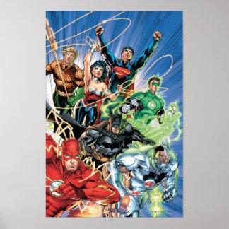 Los nuevos 52 - liga de justicia 1 poster