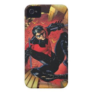 Los nuevos 52 - Nightwing #1 iPhone 4 Case-Mate Carcasas