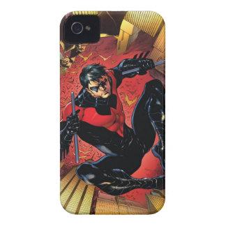Los nuevos 52 - Nightwing #1 iPhone 4 Case-Mate Funda
