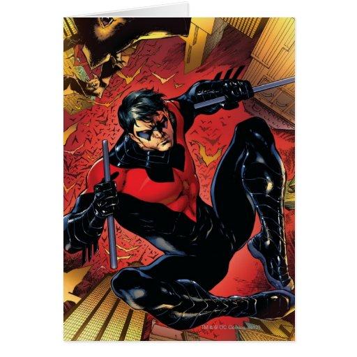 Los nuevos 52 - Nightwing #1 Tarjeta De Felicitación