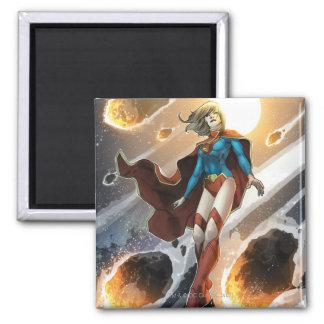 Los nuevos 52 - Supergirl #1 Imán Cuadrado
