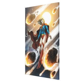 Los nuevos 52 - Supergirl #1 Lienzo Envuelto Para Galerías